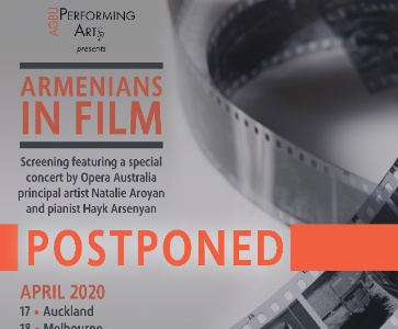 POSTPONED: ARMENIANS IN FILMS
