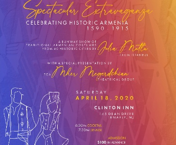 Spectacular Extravaganza Celebrating Historic Armenia 1590-1915